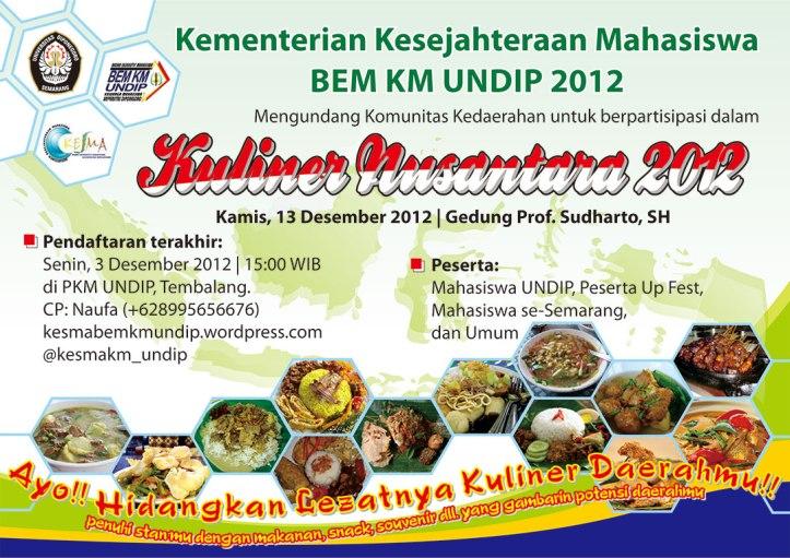 Kuliner Nusantara 2012