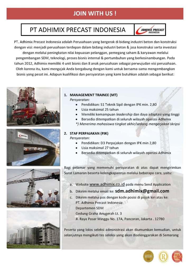 IKLAN MT dan PJK Semarang