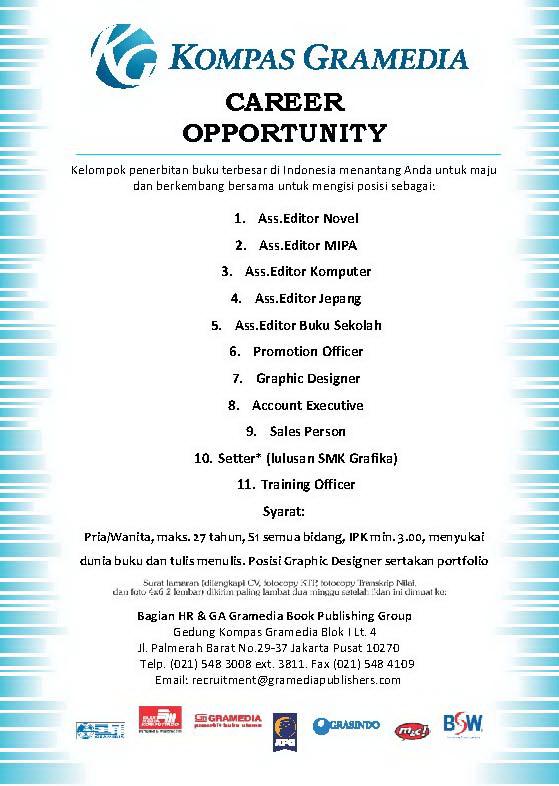 poster kompas gramedia jan 2012